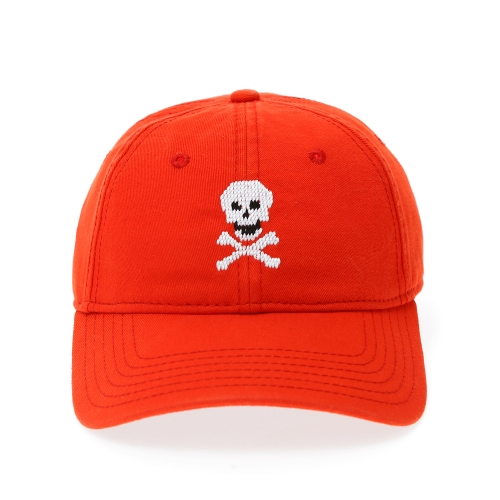 [HARDING - LANE] H-L Skull & Bonesⓒ on Neon Red