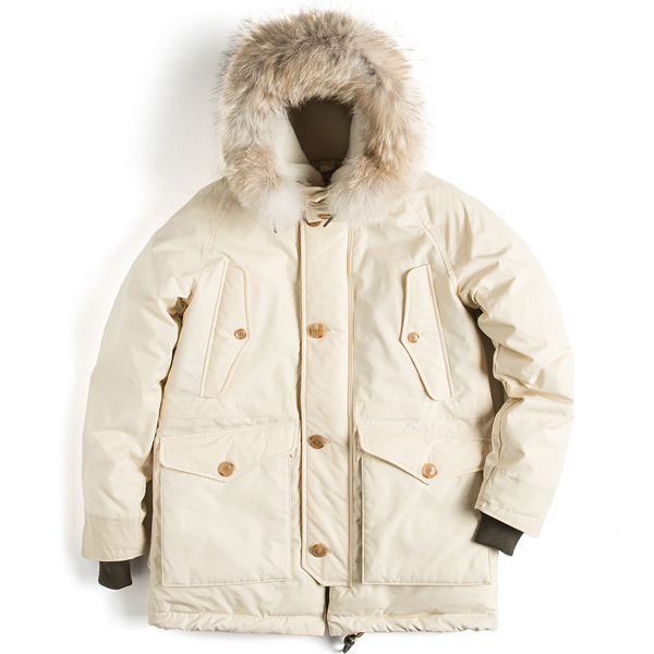[EASTLOGUE] FERNDALE PARKA sand
