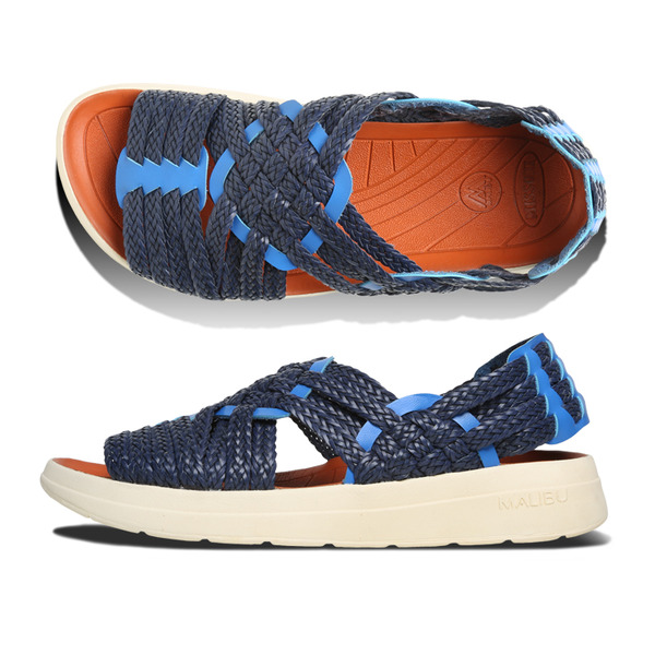 [MALIBU SANDALS] MISSONI x MALIBU CANYON Navy Cobalt