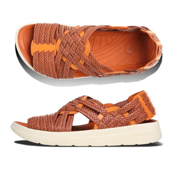 [MALIBU SANDALS] MISSONI x MALIBU CANYON Dark Red Orange