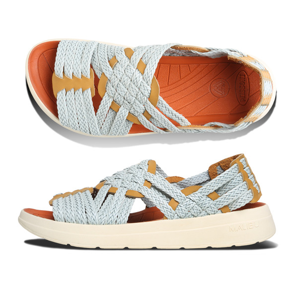 [MALIBU SANDALS] MISSONI x MALIBU CANYON Light Blue Yellow