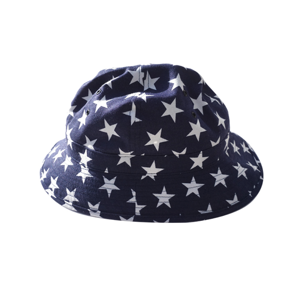 "[INFIELDER DESIGN] STAR MILITARY HAT ""NAVY"""