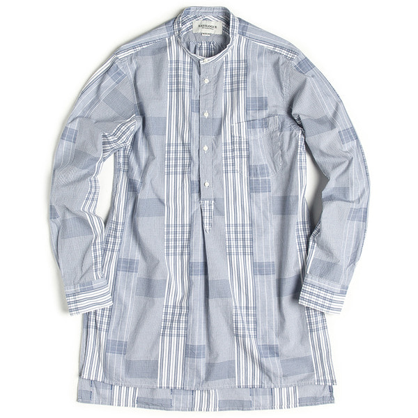 [EASTLOGUE] TUNIC SHIRT 'MIXED STRIPE'