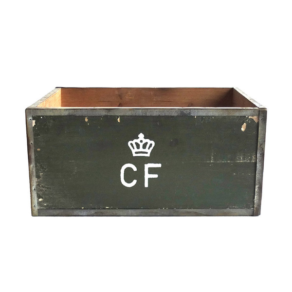 [YMCL KY] STORAGE WOOD BOX 'L' 'OLIVE'