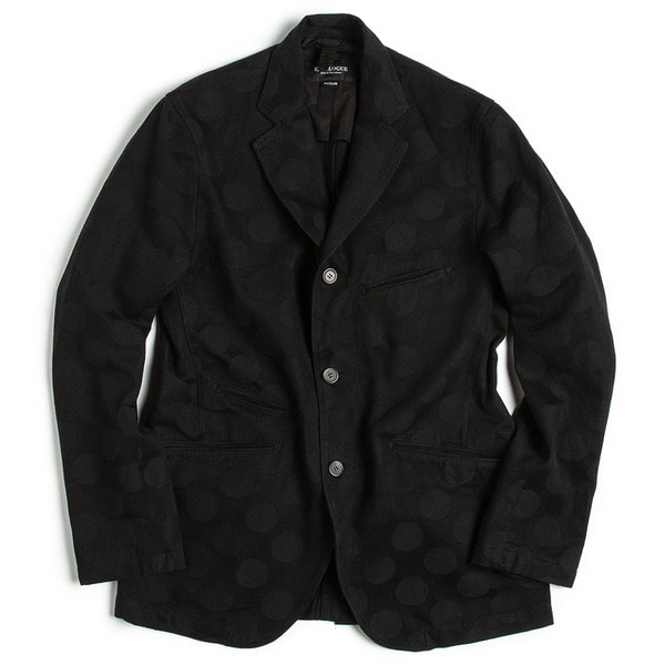 [EASTLOGUE] EXPLORE JACKET 'BLACK HIDDEN DOT'