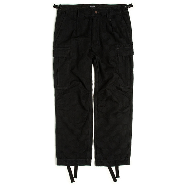 [EASTLOGUE] BATTLE FIELD PANTS 'BLACK HIDDEN DOT'