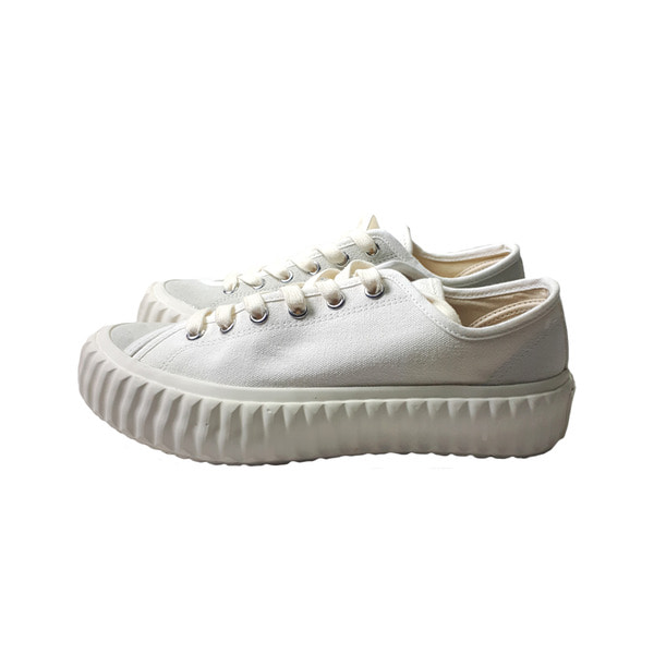 [EXCELSIOR] SKID LO STEAM 'WHITE'(SUEDE)