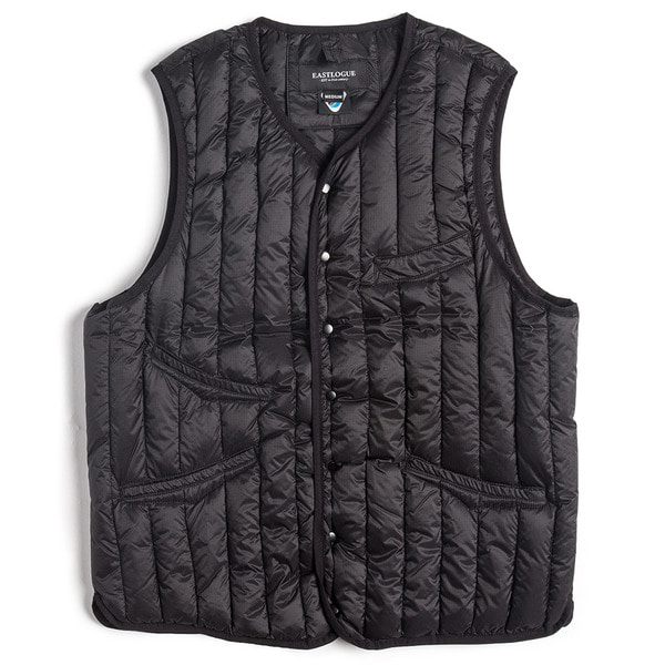 [EASTLOGUE] SHIELD DOWN VEST 'BLACK'