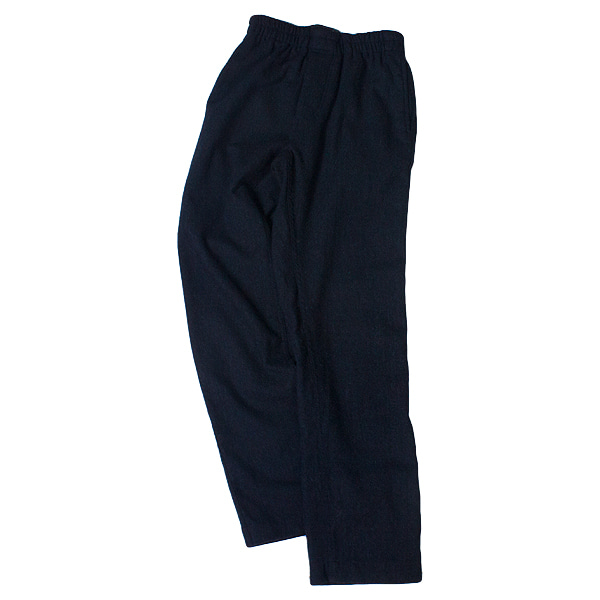 [DOCUMENT] WASHED WOOL PAJAMA PANTS 'NAVY'