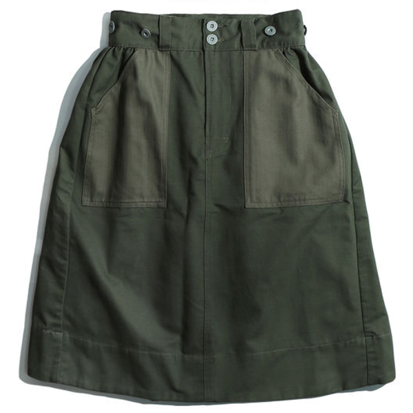 [WORKWARE] BAKER SKIRT 'GREEN'
