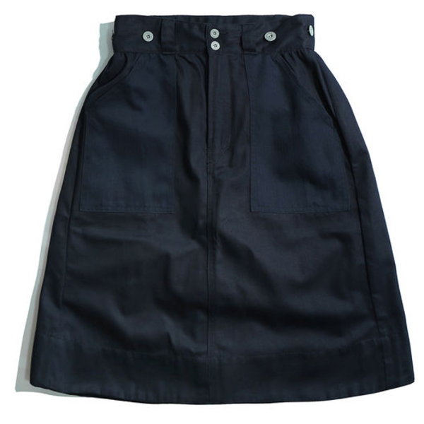 [WORKWARE] BAKER SKIRT 'NAVY'
