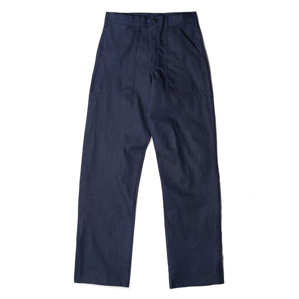[GUNG HO] 4 POCKET FATIGUE PANTS 1101D 'DENIM'