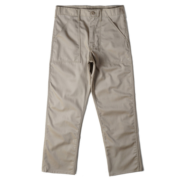 [GUNG HO] 1506P 4 POCKET FATIGUE PANTS 'KHAKI TWILL'