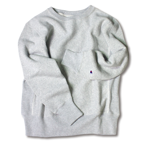 [CHAMPION] REVERSE WEAVE STANDARD SWEAT SHIRTS 'SILVER GREY'