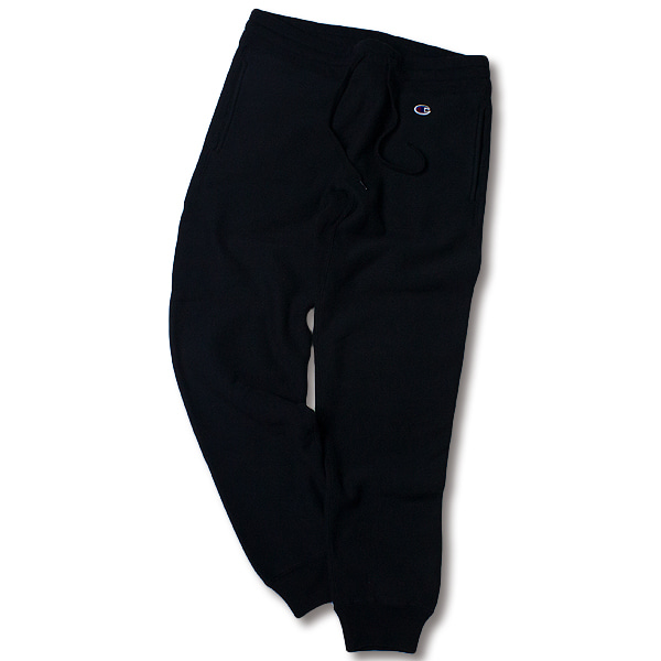 [CHAMPION] REVERSE WEAVE STANDARD SWEAT PANTS 'BLACK'