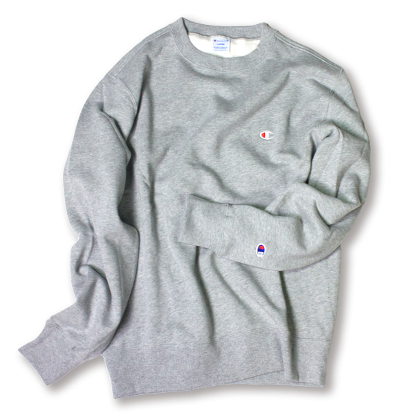 [CHAMPION] BASIC SMALL LOGO SWEAT SHIRT 'OXFORD'