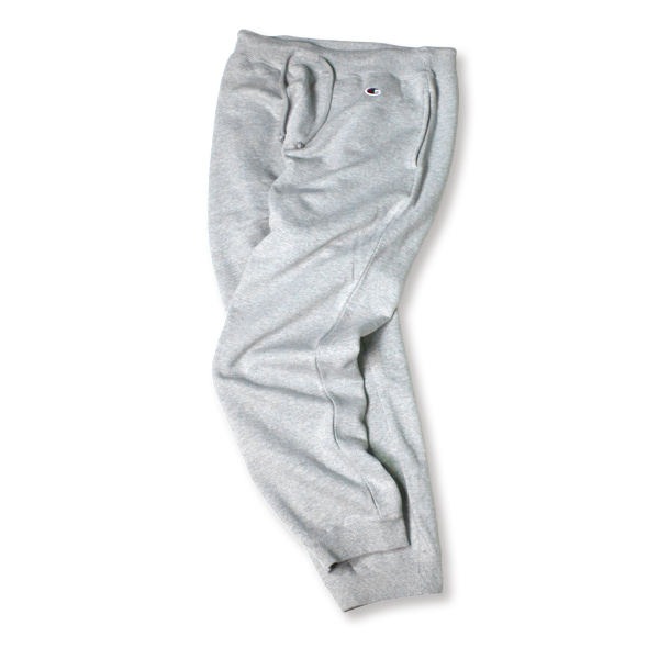 [CHAMPION] BASIC SMALL LOGO SWEAT PANTS 'OXFORD'