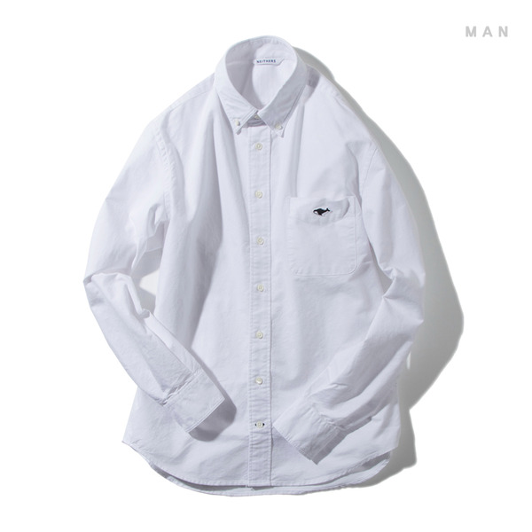 [NEITHERS] 210-1 STANDARD B/D SHIRT 'WHITE'