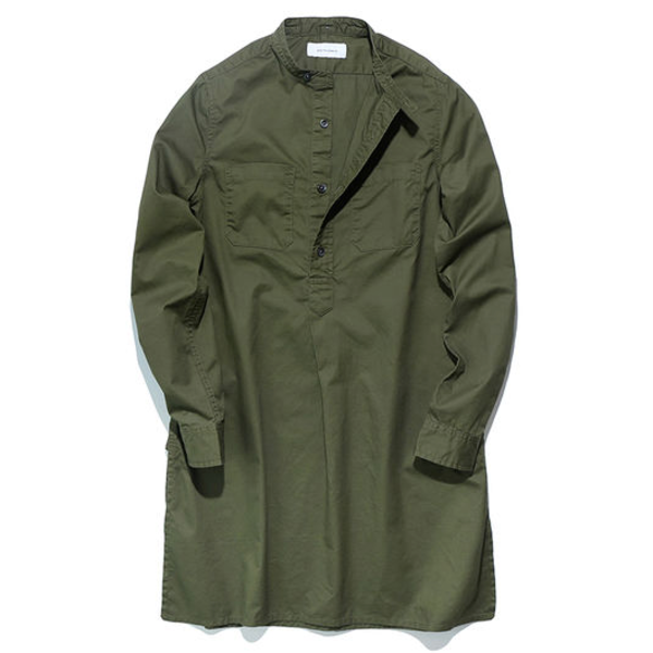 [WORKWARE] MRS.WORKWARE PULLOVER SHIRT 'GREEN'