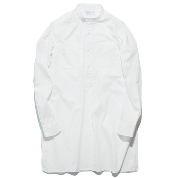 [WORKWARE] MRS.WORKWARE PULLOVER SHIRT 'WHITE'