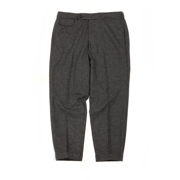 [BROWNYARD] EASY WOOL PANTS 'GREY'