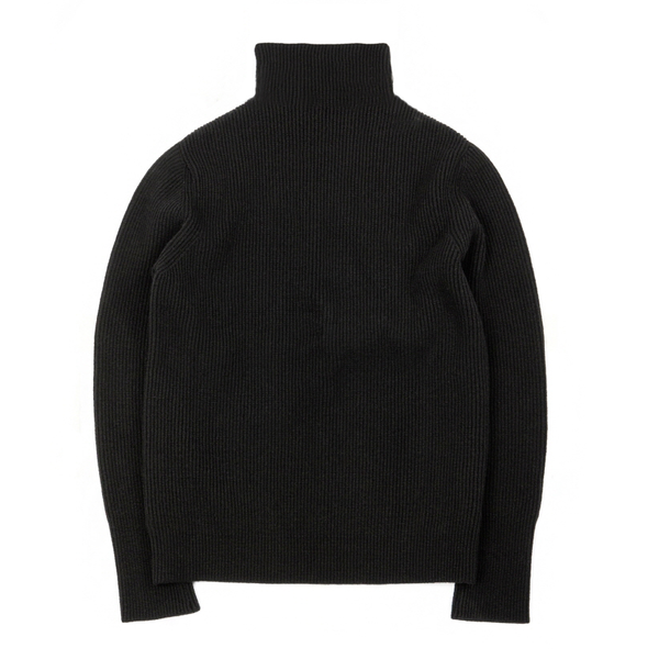 [BROWNYARD] WHOLE GARMENT TURTLENECK 'BLACK'