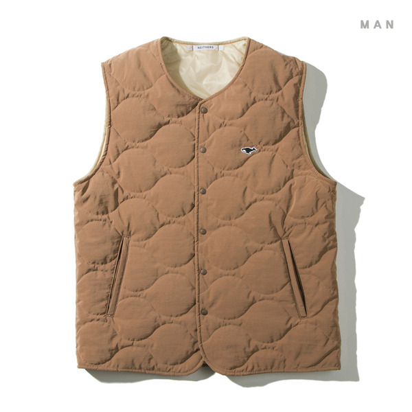 [NEITHERS] 101-3 LIGHT PADDED VEST 'BEIGE'