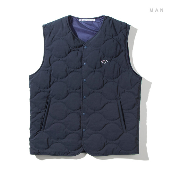 [NEITHERS] 101-3 LIGHT PADDED VEST 'NAVY'