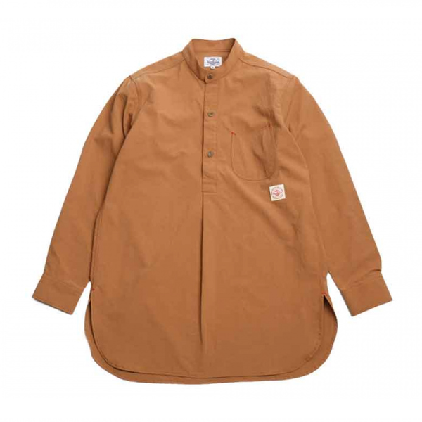 [HORLISUN] STANLEY TUNIC SOLID SHIRTS 'LIGHT BROW'