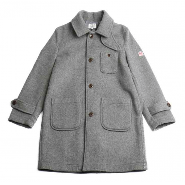 [HORLISUN] WINTERPORT WOOL COAT 'GRAY'