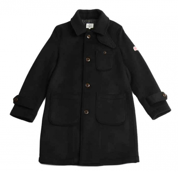 [HORLISUN] WINTERPORT WOOL COAT 'BLACK'