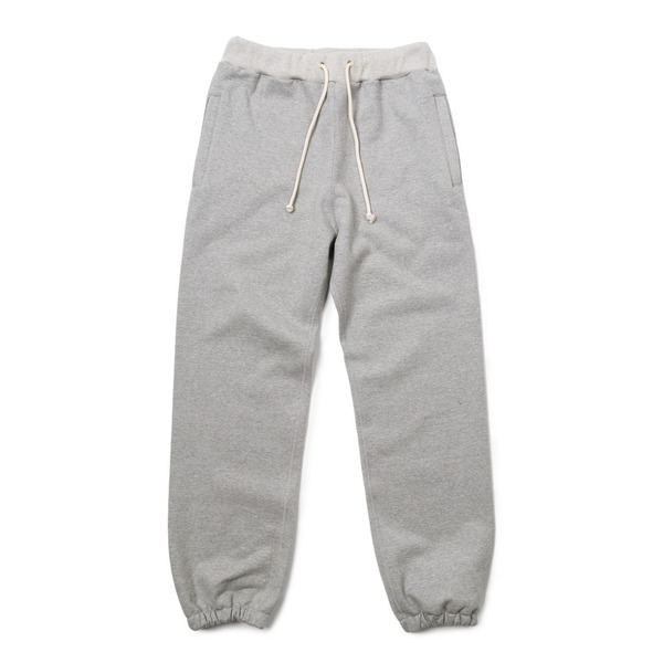 [BIG UNION] 17FW SWEAT PANTS 'GREY MELANGE'