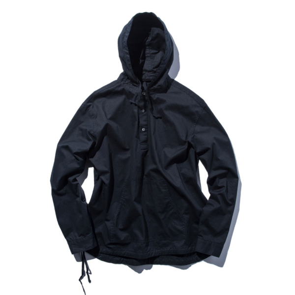 [STAND OUT STORE] PULLOVER HOODED SHIRT 'DARK NAVY'