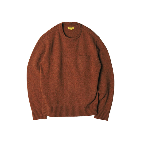 [THE RESQ&CO.] BINGHAM SWEATER 'PERU TANGERINE'