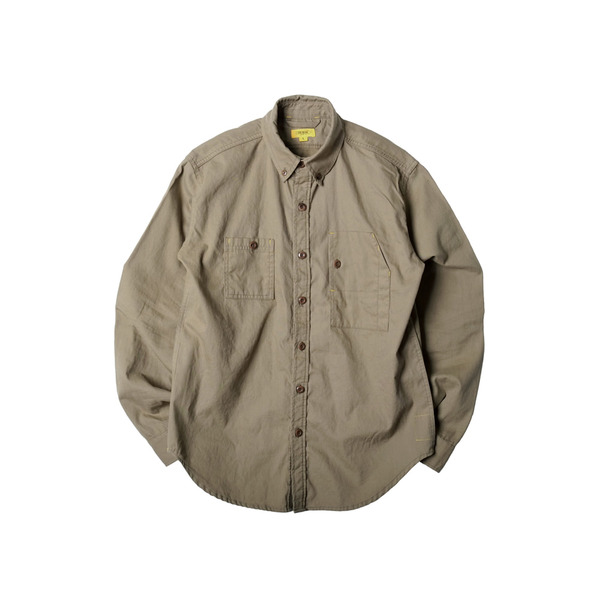 [THE RESQ&CO.] TEDDY SHIRT 'KHAKI'