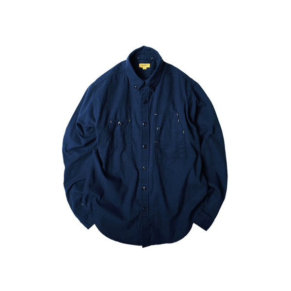 [THE RESQ&CO.] TEDDY SHIRT 'NAVY'