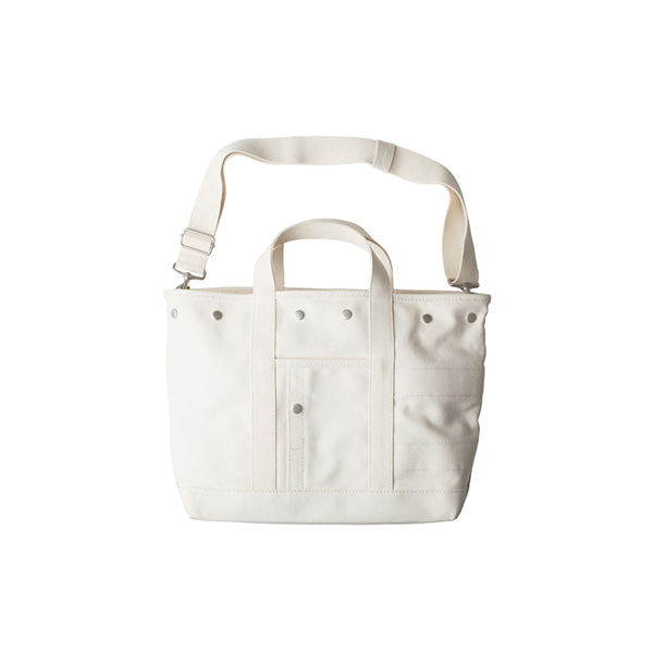 [THE RESQ & Co.] DAILY DOCOMARI TOTE 'IVORY'