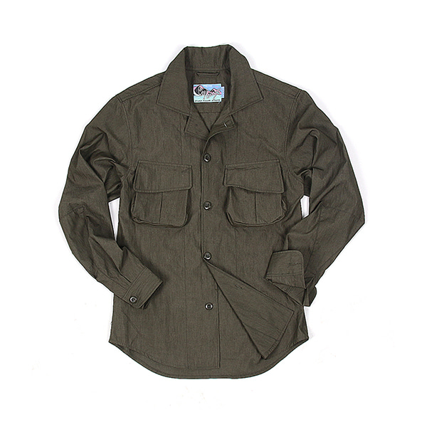 [BEHEAVYER] M-42 SHIRT 'FOREST GREEN'