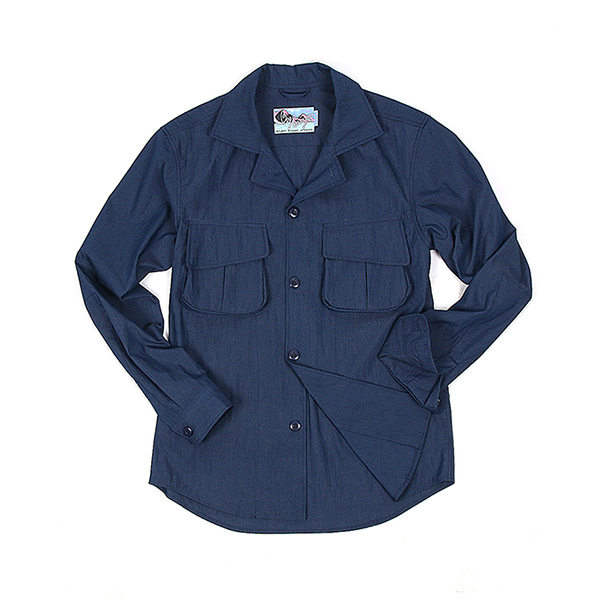 [BEHEAVYER] M-42 SHIRT 'NAVY BLUE'