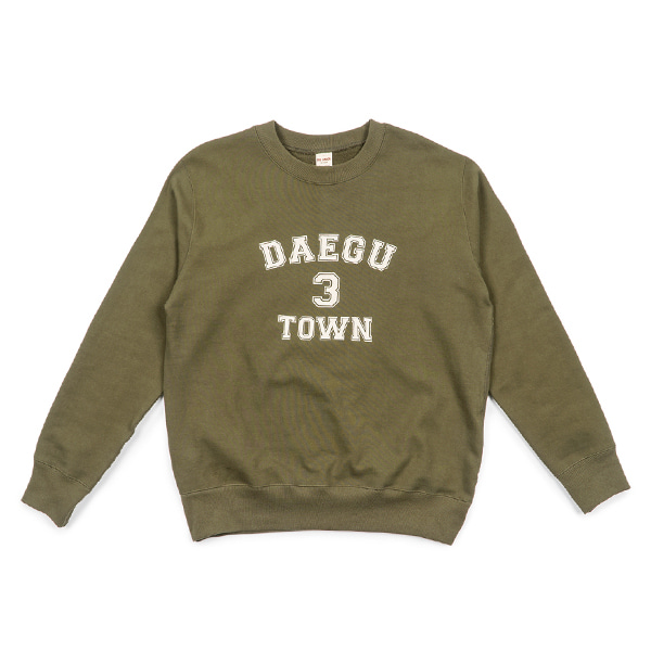 [BIG UNION] 3 TOWN SWEAT SHIRT 'DAEGU'