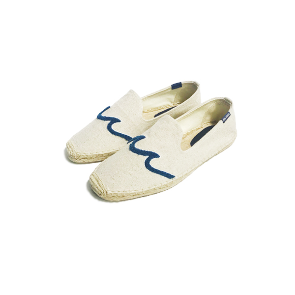 [SOLUDOS] SMOKING SLIPPER 'WAVE SAND'
