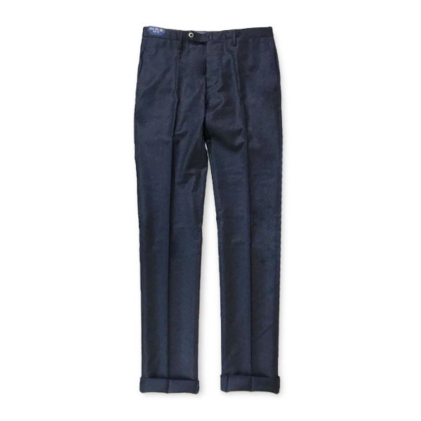 [G.T.A] SLIM FIT WOOL PANTS 'NAVY'