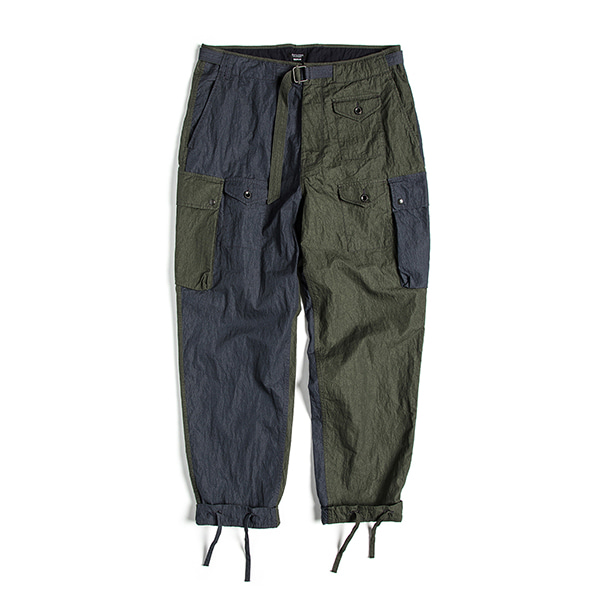 [EASTLOGUE] PARA PANTS 'OLIVE & NAVY'