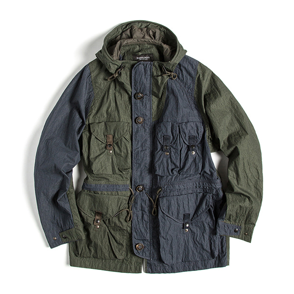 [EASTLOGUE] SMOG PARKA 'OLIVE & NAVY'