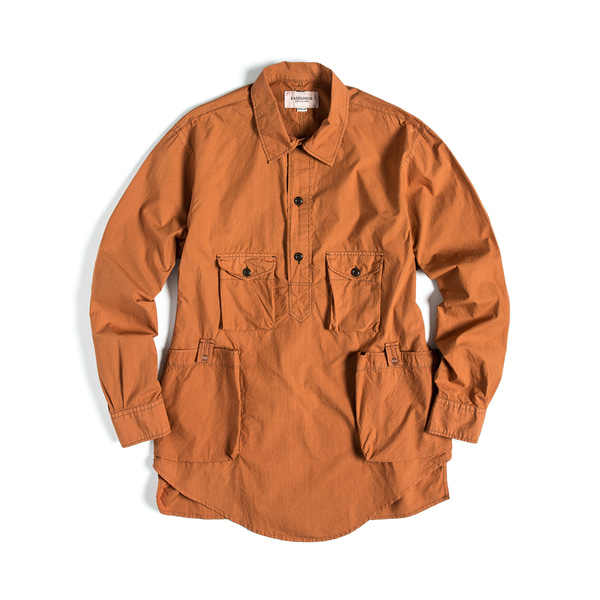 [EASTLOGUE] TREKKING SHIRT 'OCHER'