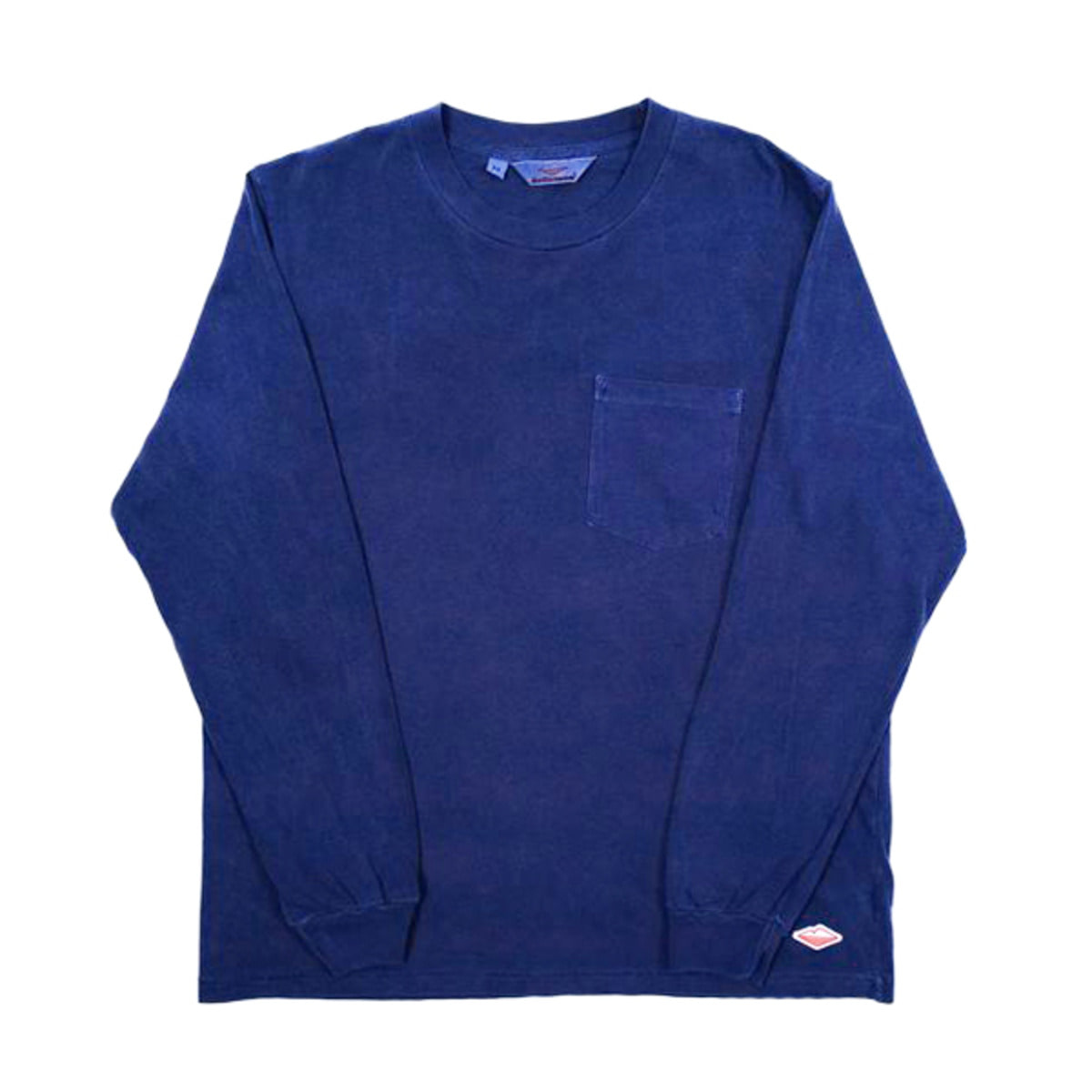 [BATTENWEAR] L/S POCKET TEE 'NAVY'