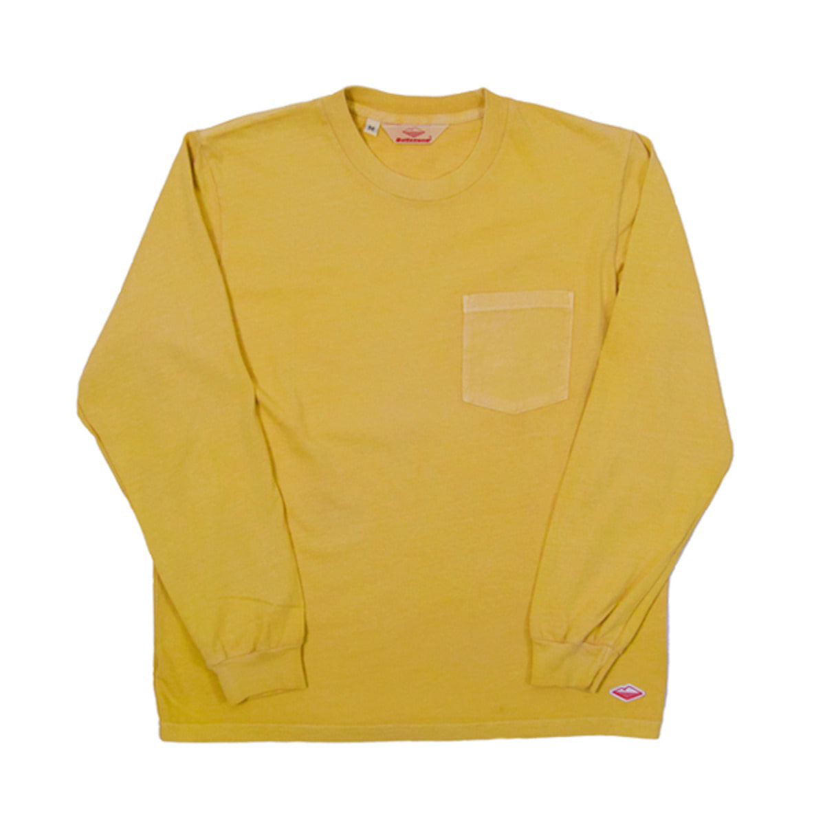 [BATTENWEAR] L/S POCKET TEE 'MUSTARD'