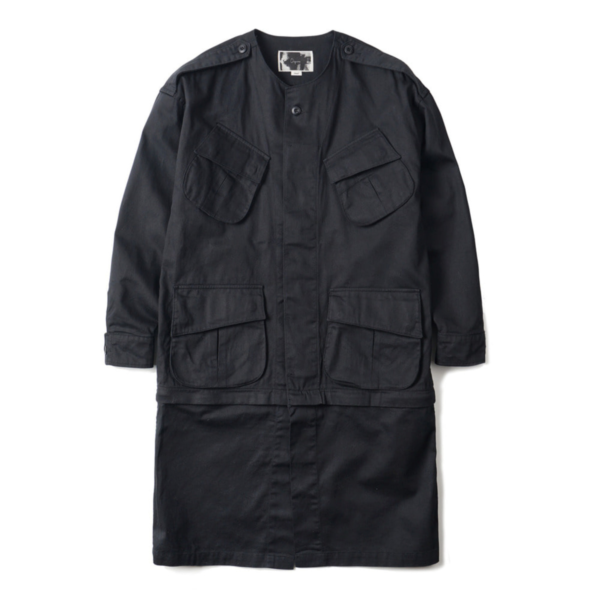 [OOPARTS] COMBAT TROPICAL JACKET 'BLACK'