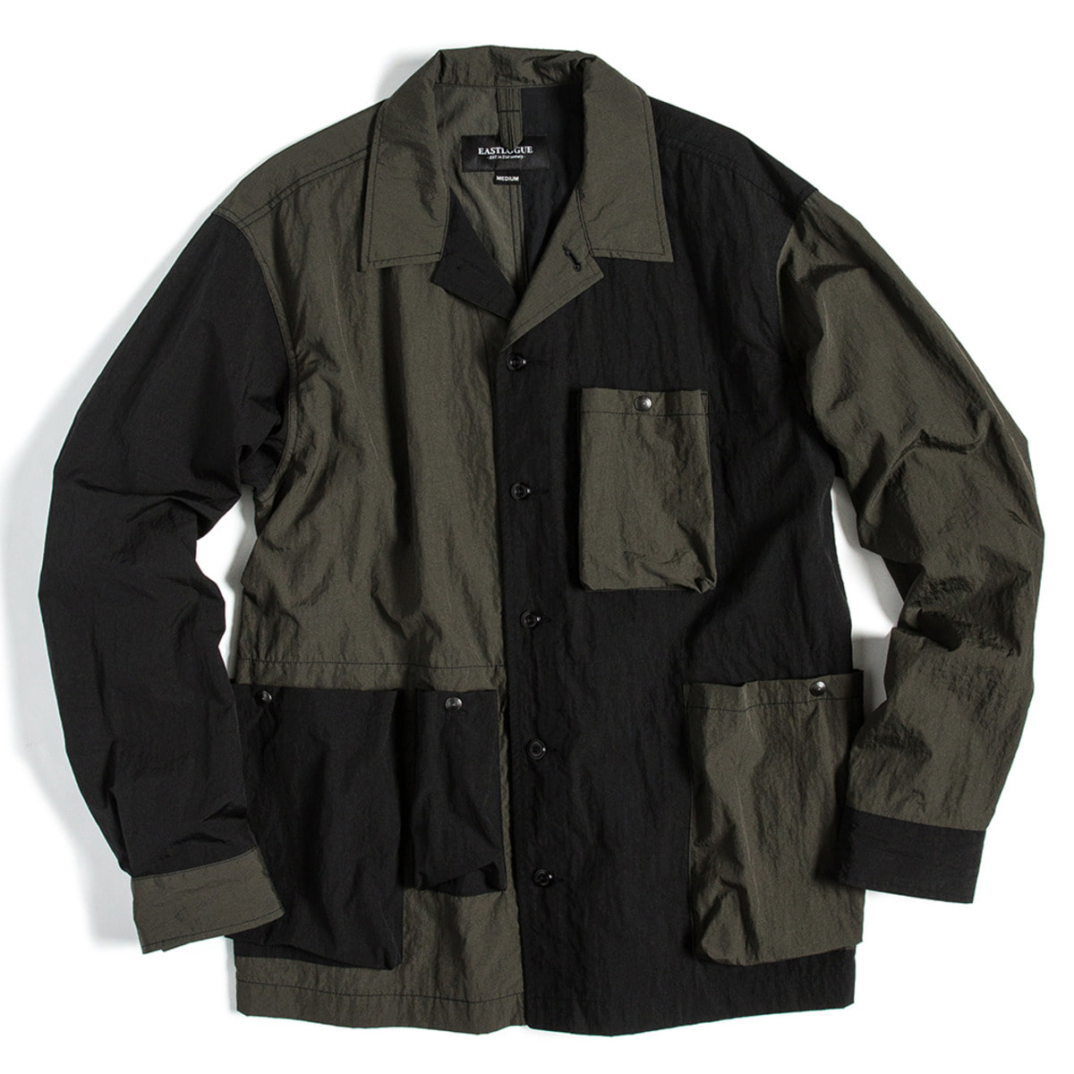 [EASTLOGUE] HOLIDAY JACKET 'OLIVE & BLACK'