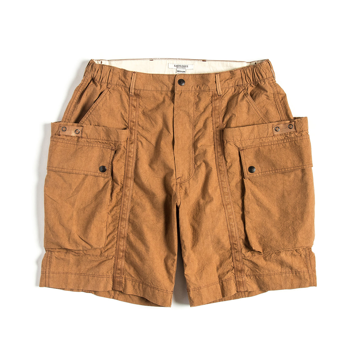 [EASTLOGUE] WAGON SHORTS 'OCHER'